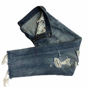Lucky Brand Distressed Slim Boyfriend Jeans 4/27